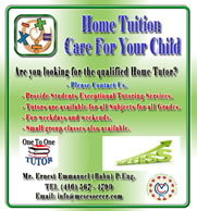 Home Tuition Care for Your Child
